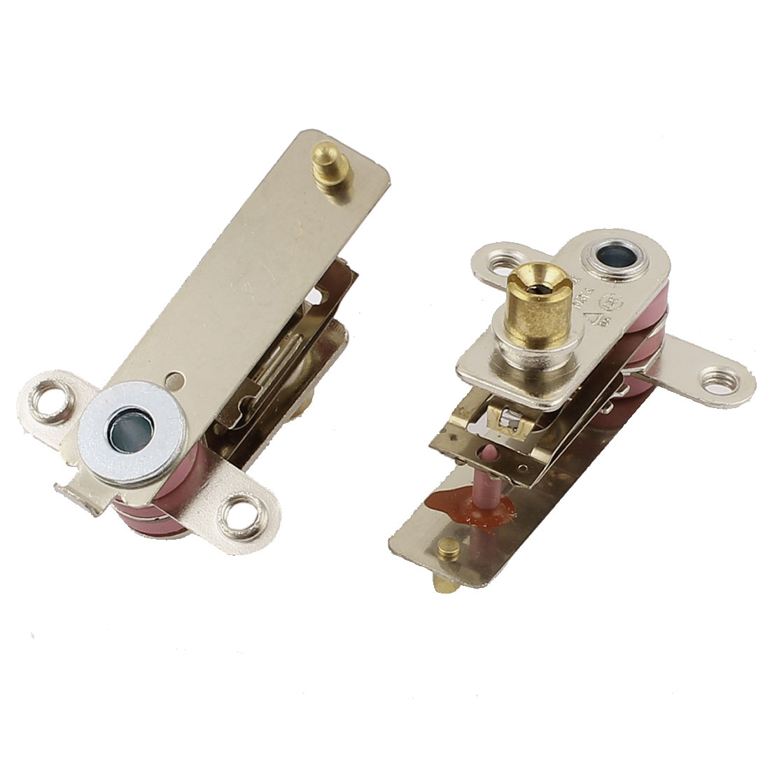 2 Pcs AC 250V 10A Adjustable Temperature Thermostat for Electric Oven