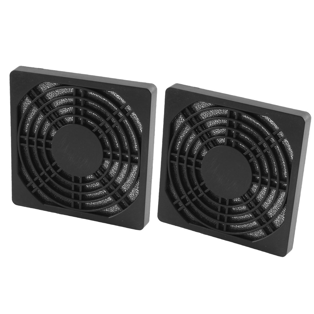 2 Pcs Computer Case Fan Dustproof Mesh Dust Filter Cover Guard 97mmx97mmx10mm