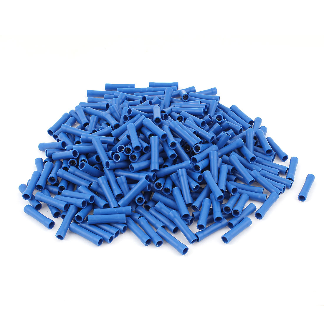 330Pcs Dual Ends Blue Plastic Sleeve Insulated Female Crimp Wiring Terminal Cable Connector for AWG16-14