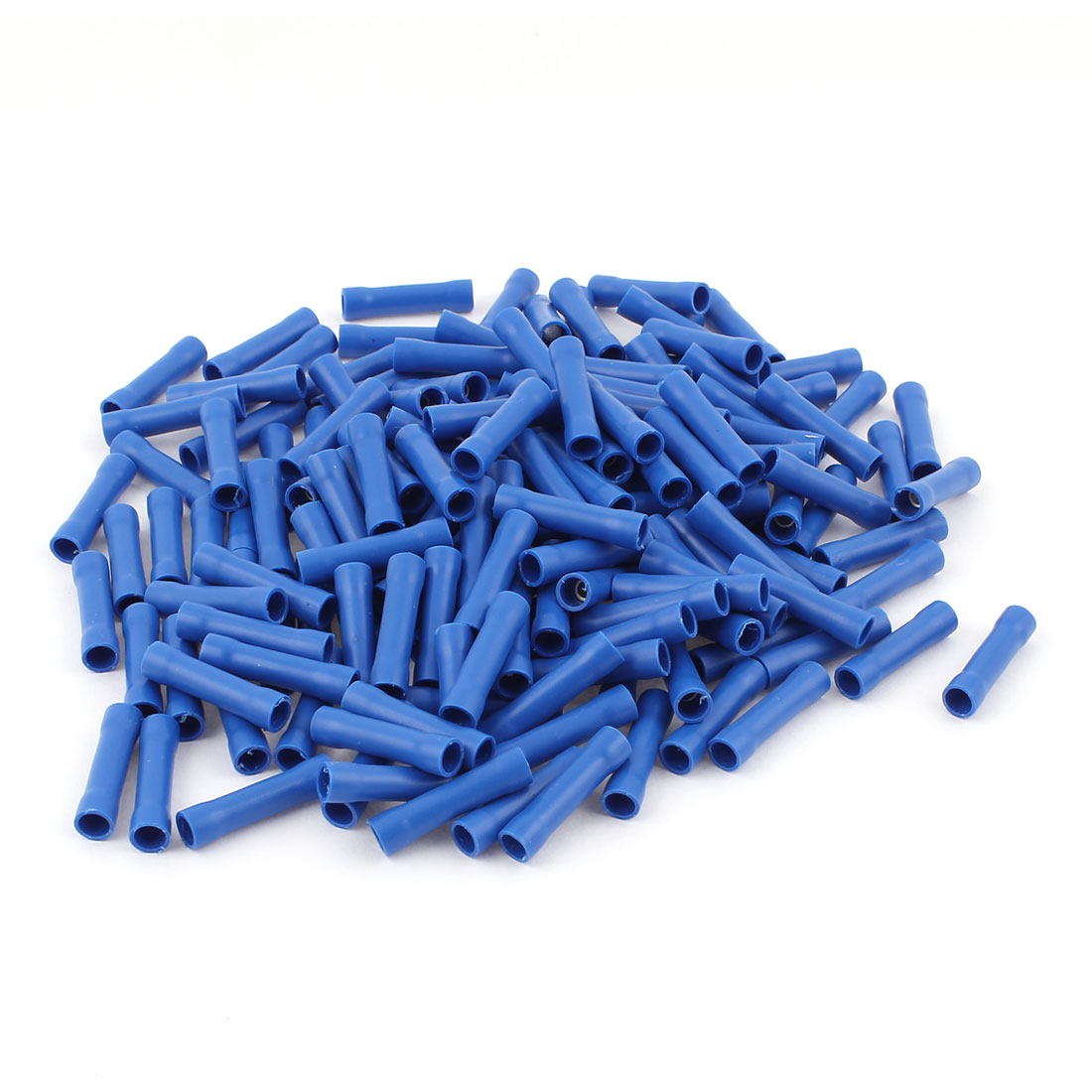 170Pcs Dual Ends Blue Plastic Sleeve Insulated Female Crimp Wiring Terminal Cable Connector for AWG16-14
