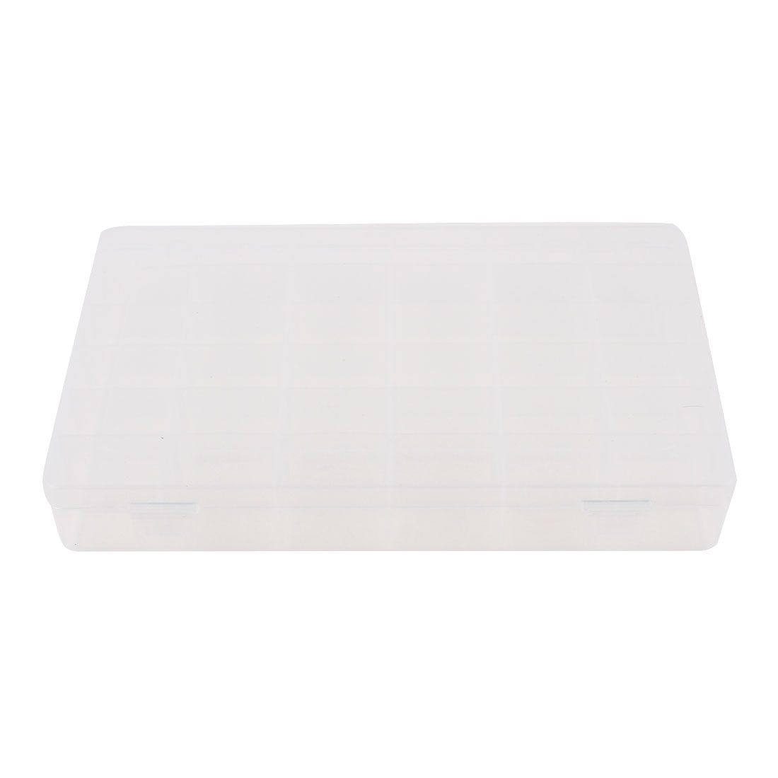 27.5cmx17.5cmx4.5cm Rectangle Plastic Detachable 36 Slots Electronic Components Tool Storage Case Box Organizer Holder