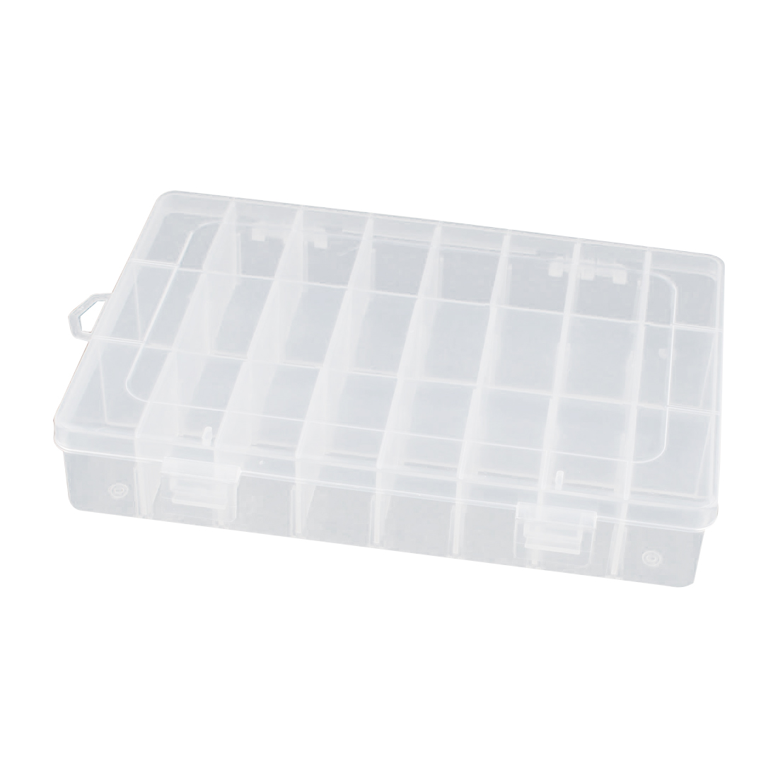 195mmx130mm Rectangle Plastic Detachable 3 Layers 6 Slots Electronic Components Tool Storage Case Box Holder