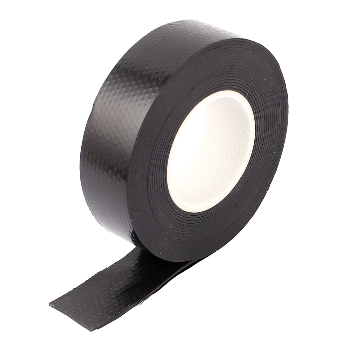 Black 23mm Width PVC Electrical Wire Insulation Self-adhesive Roll Tape