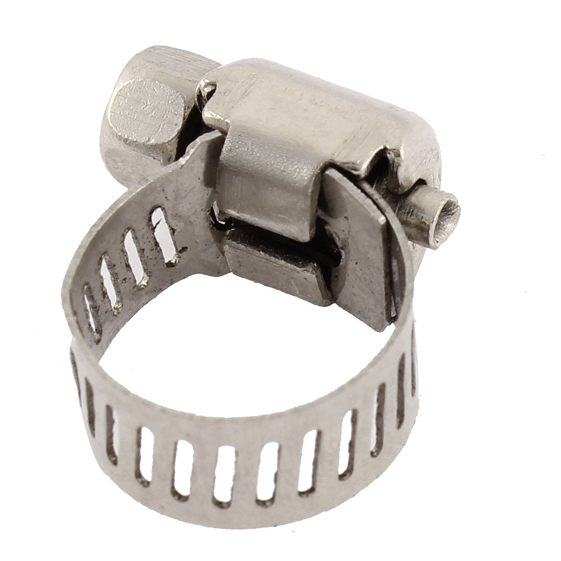 Adjustable 6-12mm Cable Tight Coolant Hose Pipe Fitting Worm Gear Clamp