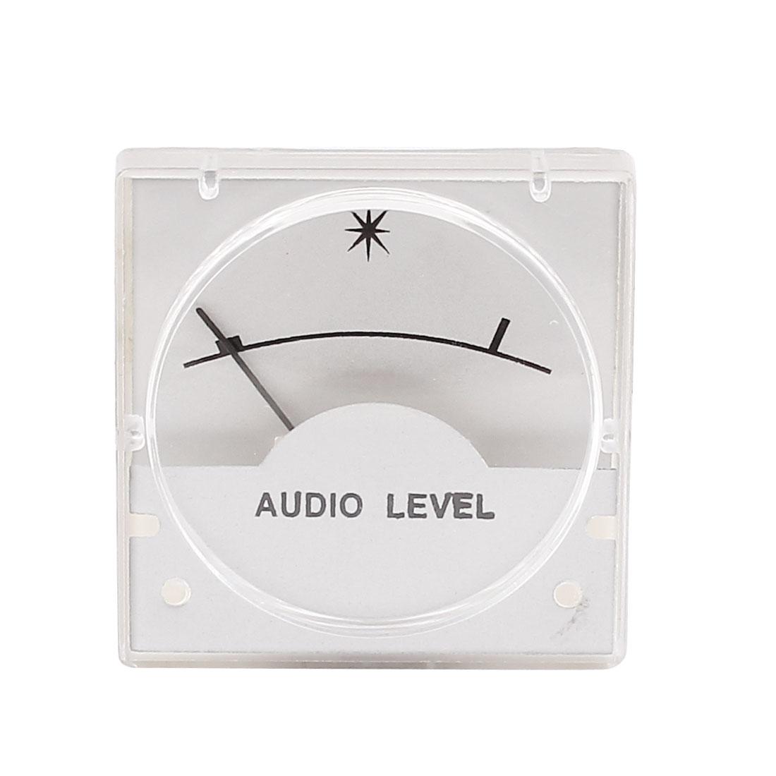 500uA 700 Ohm Amplifier Radio FM Panel Analog Audio Level Meter VU Header