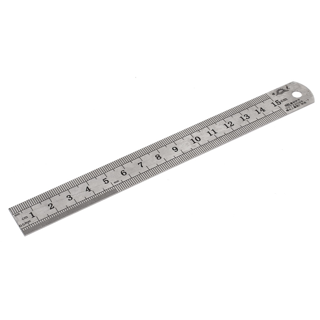 Office School Dual Sides Metric Straight Ruler Measurement Tool 15cm 6""