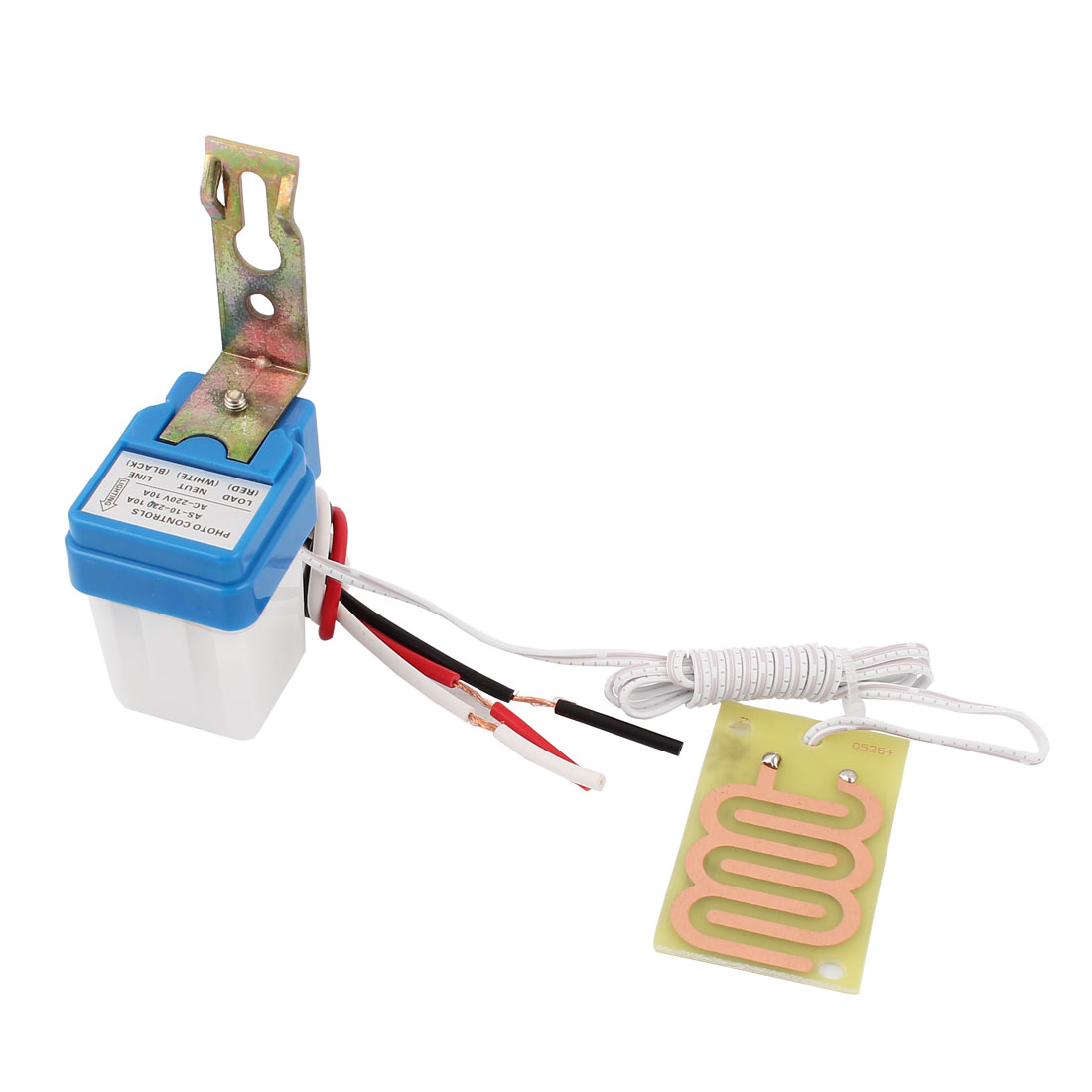 AC220V 10A Rain Detector Controller Auto On Off Raindrop Sensor Switch