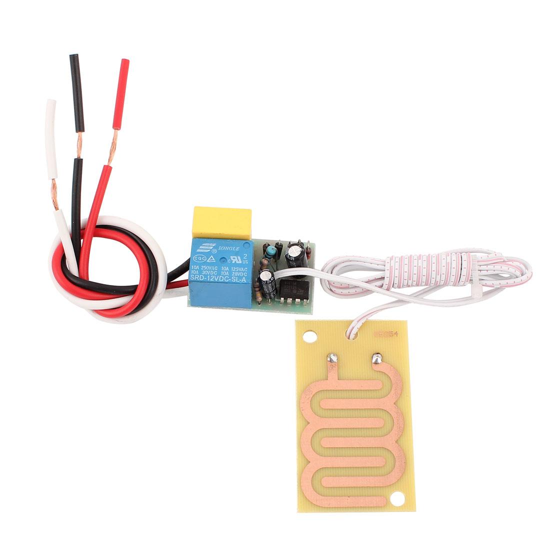 AC 110V 10A Rain Detector Raindrop Detection Sensor Module