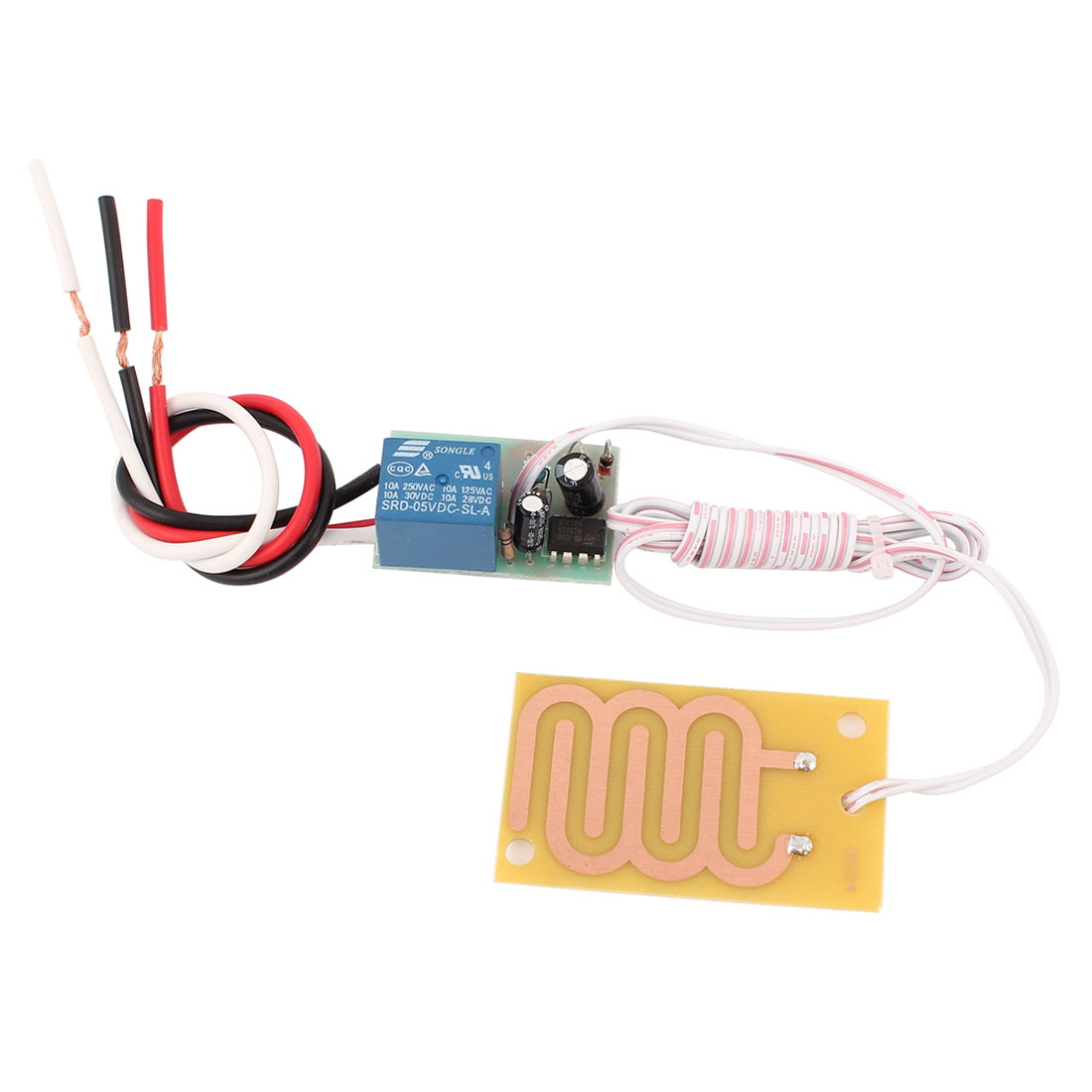 DC 5V 10A Rain Detector Switch Raindrop Detection Sensor Module