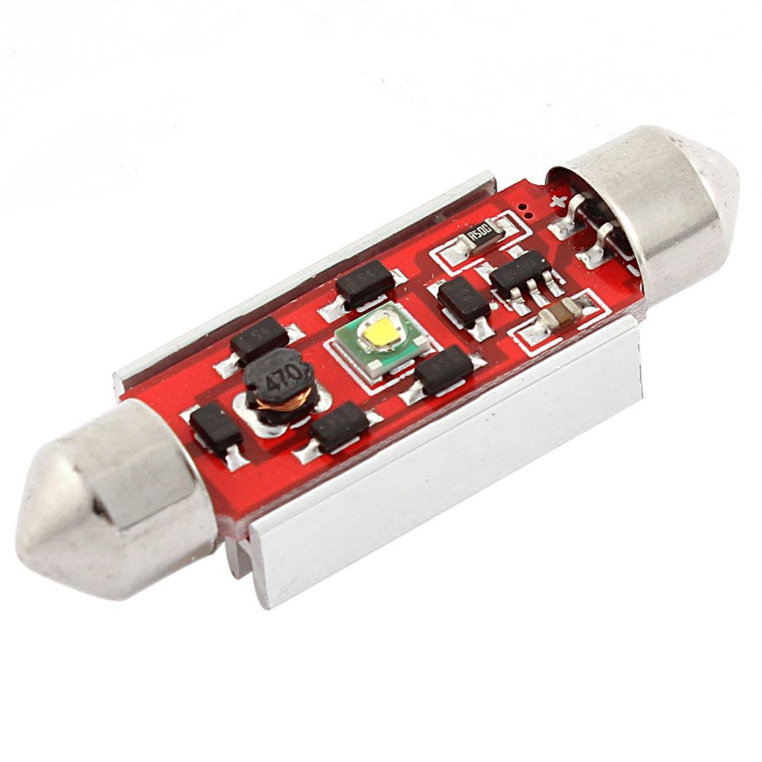 R3 1 LED 39mm Festoon 12V Car Internal Roof Light Lamp White 6423 6461 6418