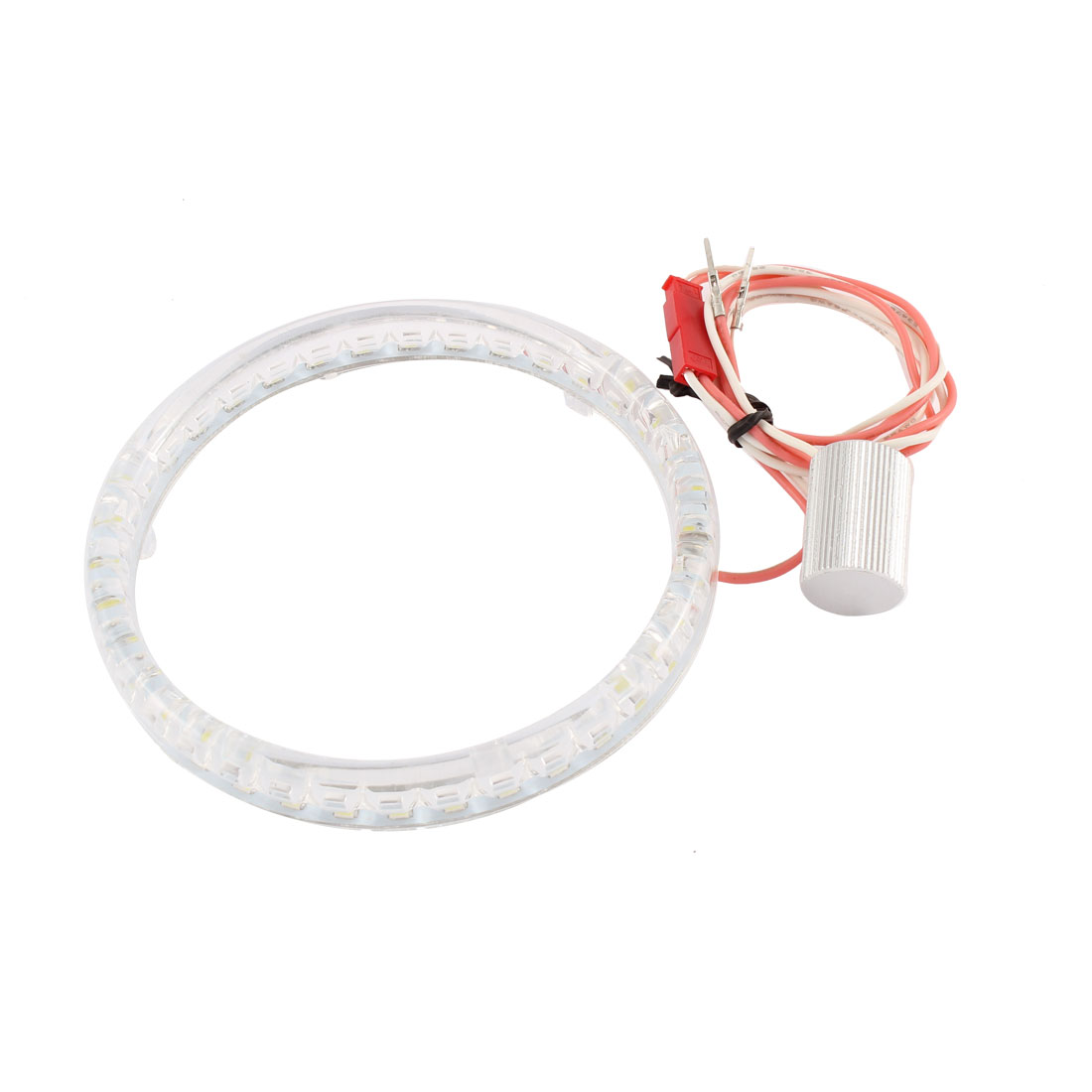 95mm Dia 3014 LED Vehicle Car Angel Eyes Ring Lights Lamps White 12V