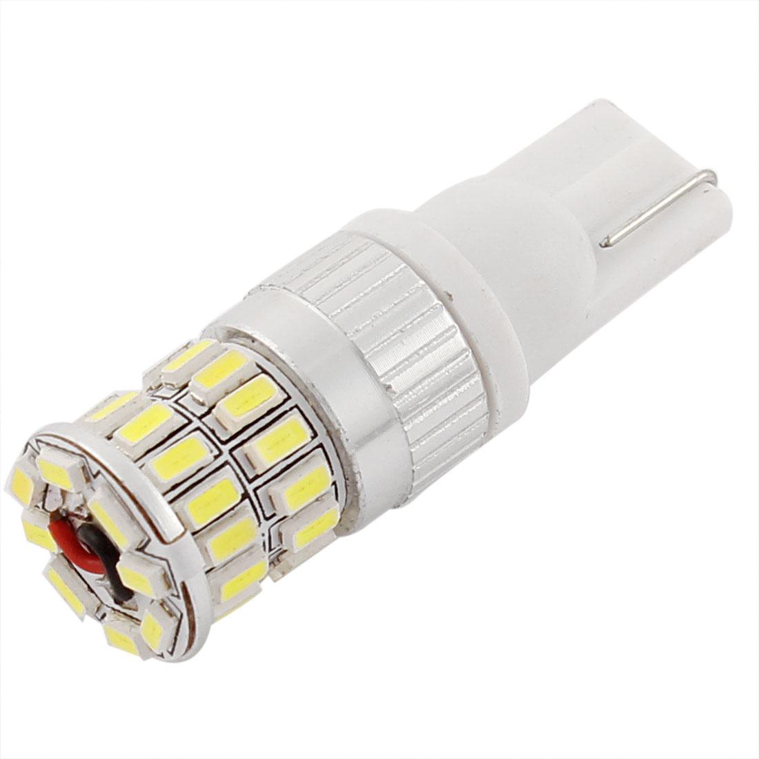 T10 194 3014 36 SMD LED Car Side Marker Backup Lights Lamp White Internal