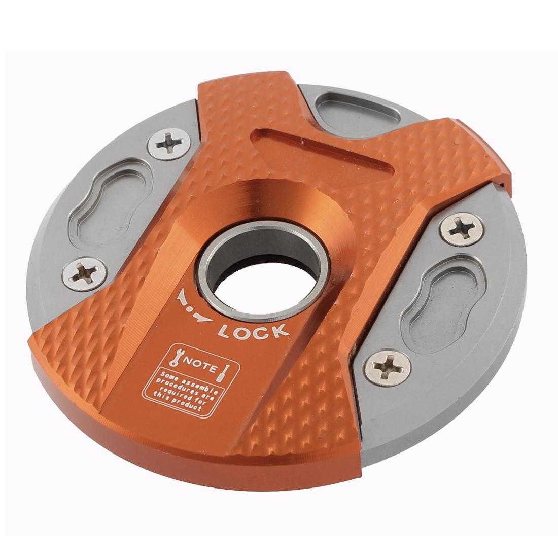 Orange Aluminium Alloy Round Shape Oil Fuel Tank Cap Cover for BWS 125 100