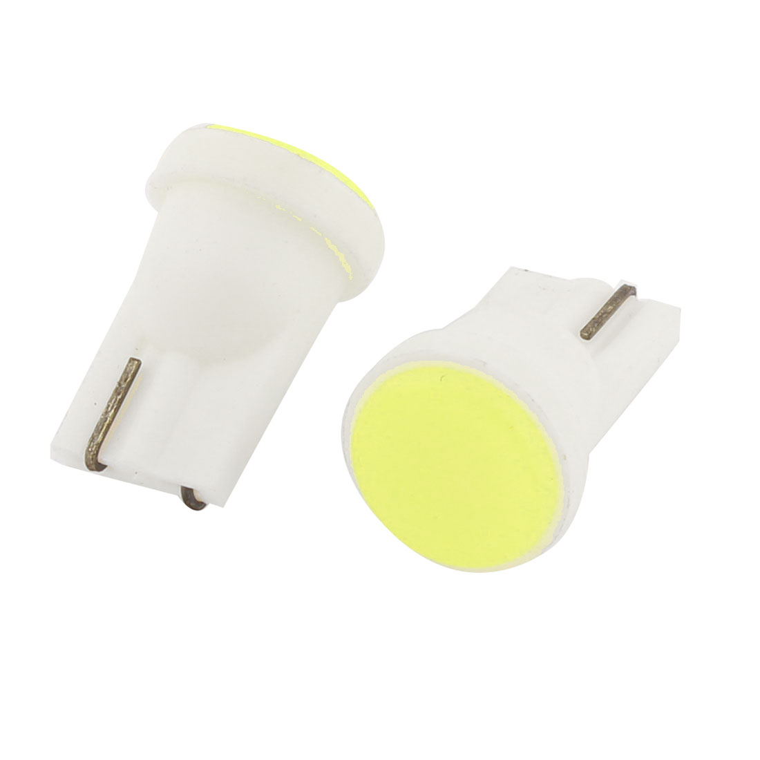 2 Pcs T10 W5W White COB Car Side Wedge Signal Light Lamp Bulb DC 12V Interior