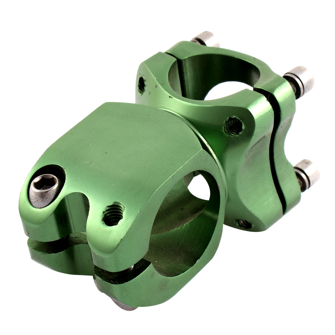 Green Cycling Mountain Bike Bicycle Aluminum Alloy Adjustable Handlebar Stem 25.4mm