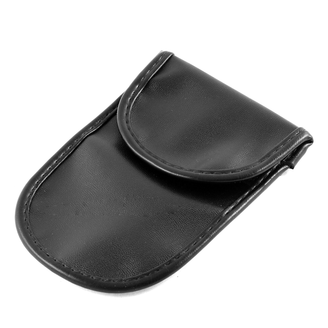 Mobile Phone Faux Leather Anti-static Bag Handset Holder Pouch Black