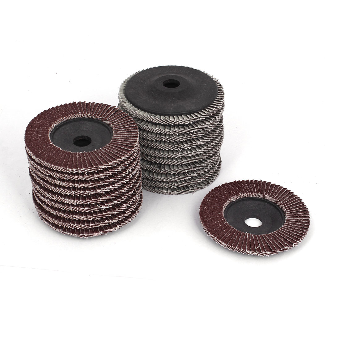 "20pcs 100mm 4"" Dia 16mm Bore 60 Grit Flap Sanding Discs Polishing Buffing Wheels"