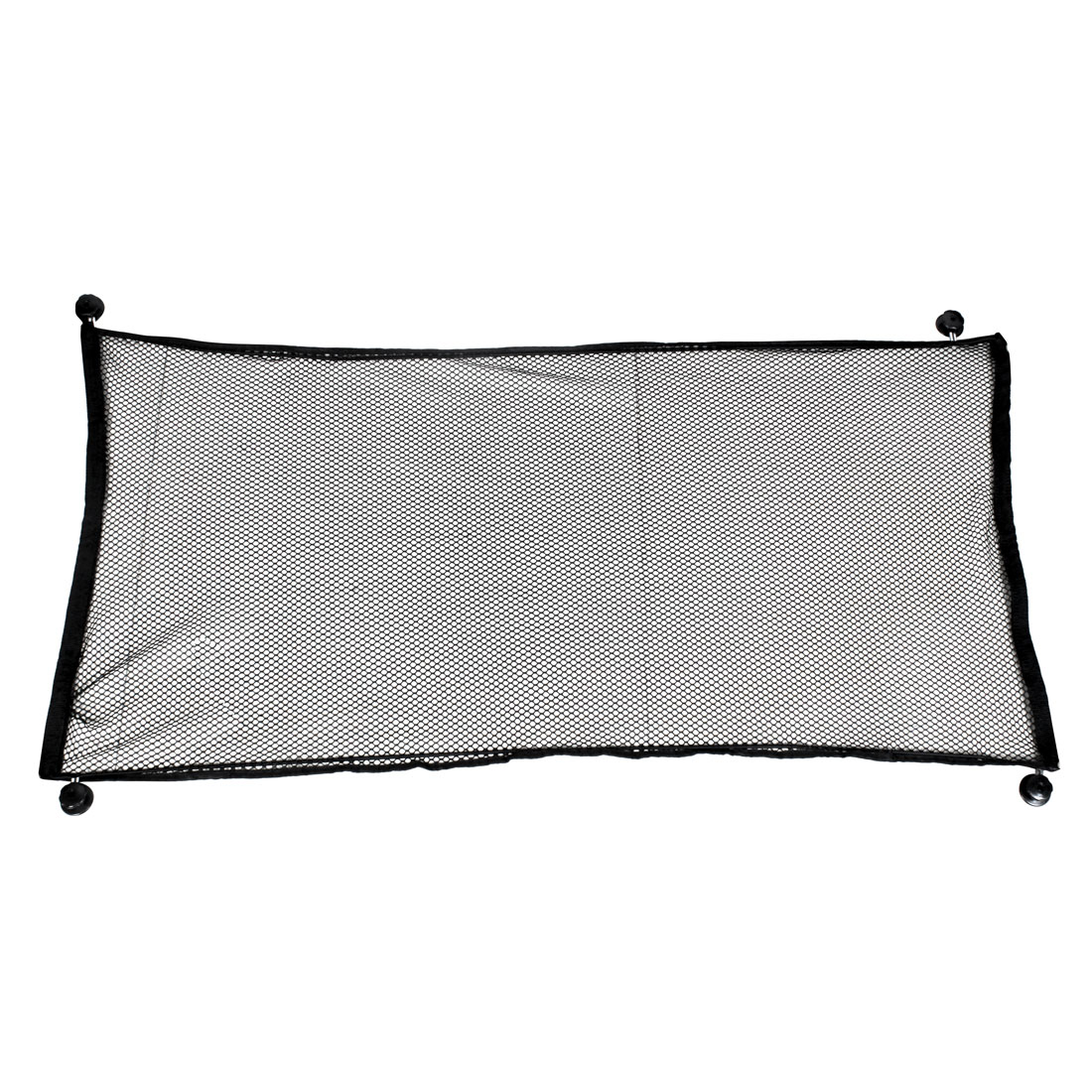 Auto Car Black Nylon Elastic Luggage Storage Net 120cm x 60cm