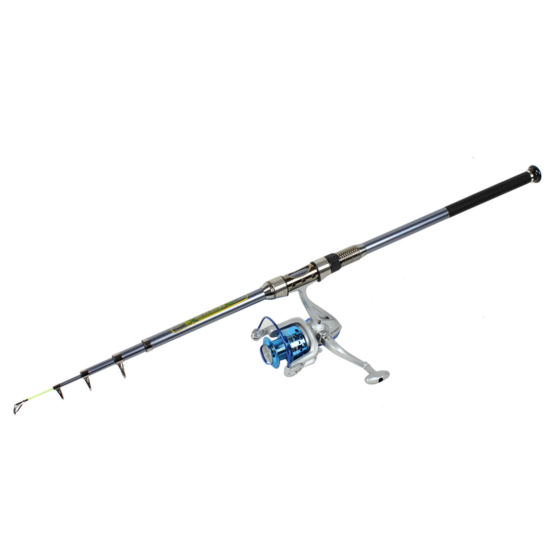 7Ft 5 Sections Carbon Sea Fishing Spinning Rods Casting Pole Gray