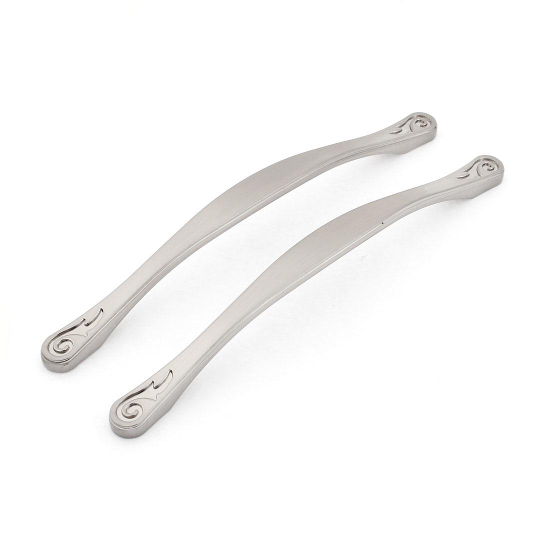 2pcs 18.5cm Long Zinc Alloy Arch Knobs Cabinet Door Pull Handles Hardware 160mm