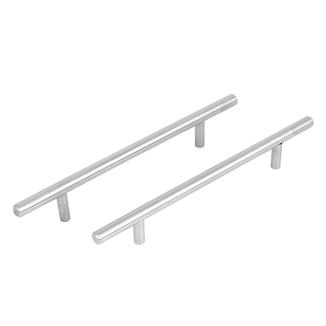 2Pcs Iron Cabinet Drawer Cupboard Door Pull Handles Grip 195mm Length