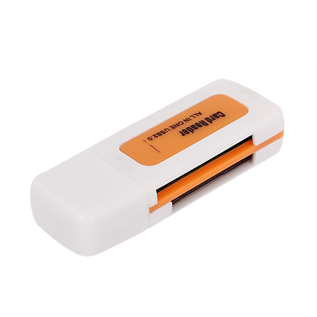 USB 2.0 4 in 1 Memory Multi M2 SD SDHC MS T-Flash Card Reader Orange
