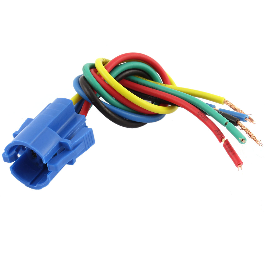 Car 16mm Socket Adapter 5 Pin Wire Harness for Metal Switch ON/OFF Button