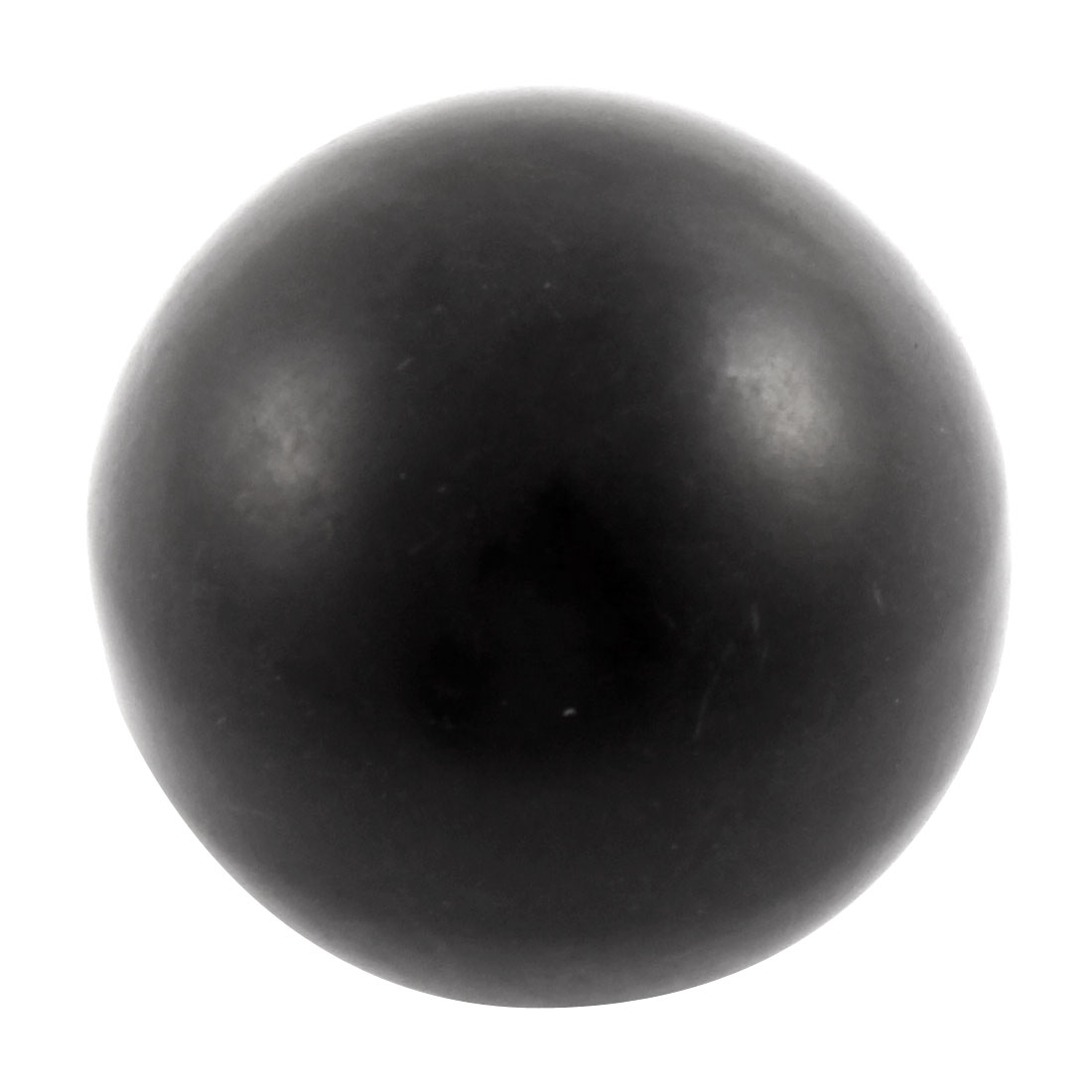 M12 x 50mm Female Thread Round 50mm Diameter Ball Lever Knob Black