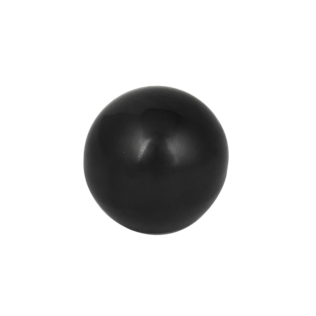 M7 x 22mm Female Thread Round 32mm Diameter Ball Lever Knob Black