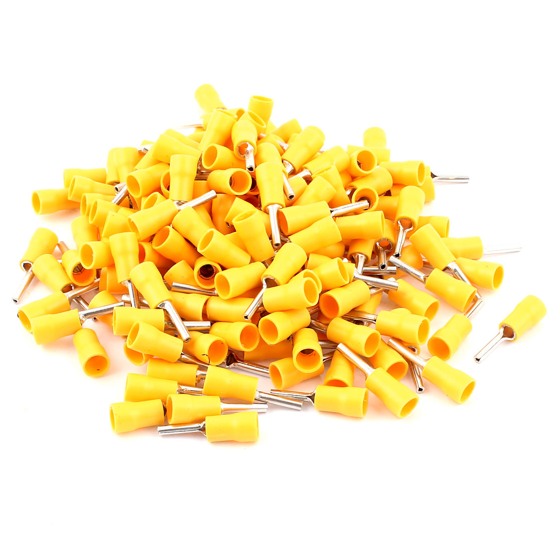 12-10AWG Wire Ferrules Crimp Connectors Insulated Pin Terminal 165pcs