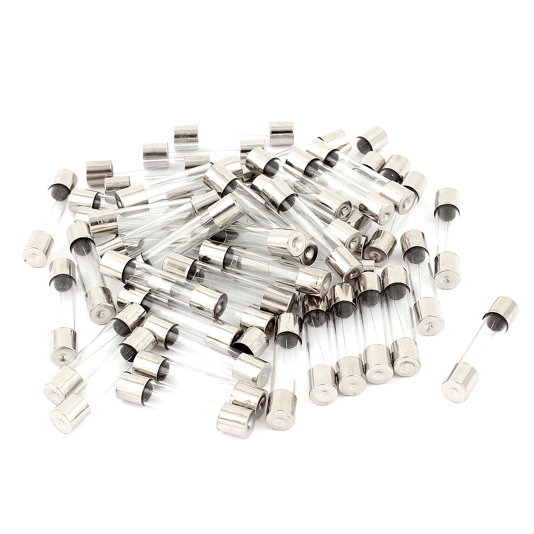 250V 13Amp Fast Quick Blow Glass Tube Fuses 6mm x 30mm 50 Pieces