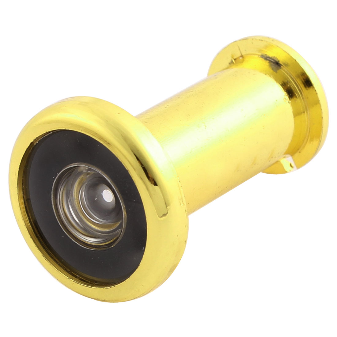 Gold Tone 180 Degree Peephole Wide Angle Lens Door Viewer