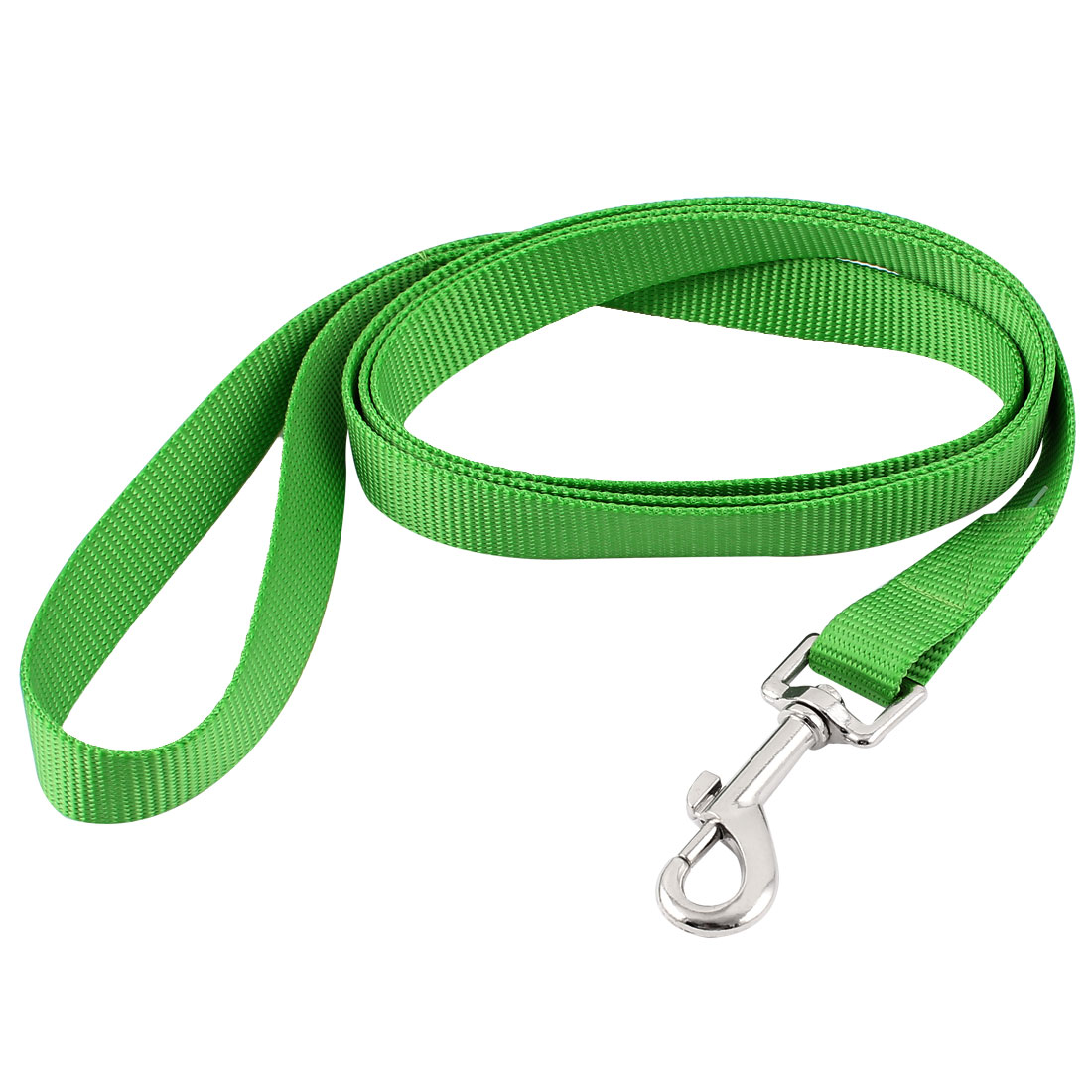 Pet Dog Puppy Swivel Hook Training Walk Lead Nylon Leash Rope 150cm Long Green