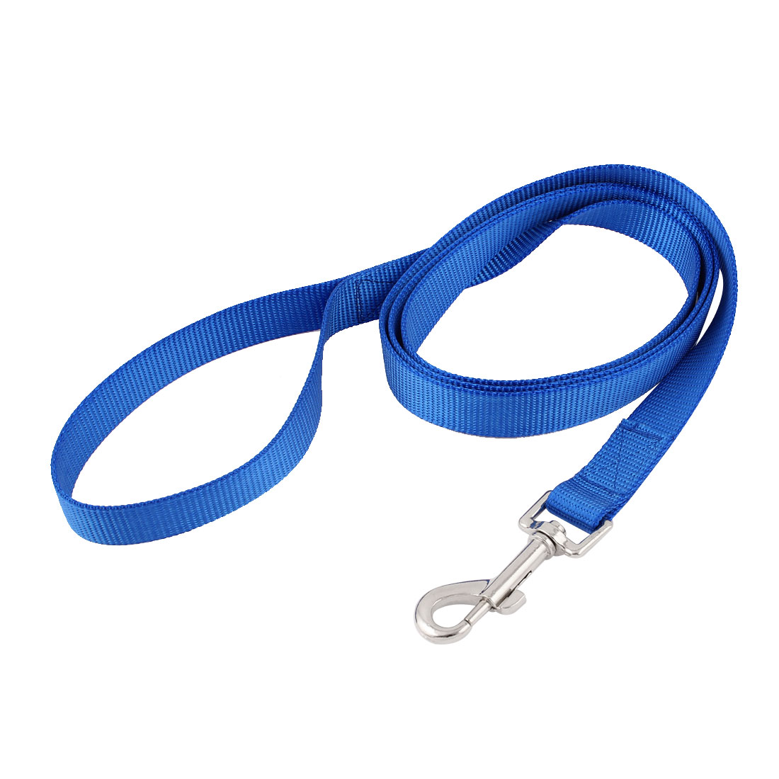 Pet Dog Puppy Nylon Swivel Hook Training Walk Lead Leash Rope 150cm Lenth Blue
