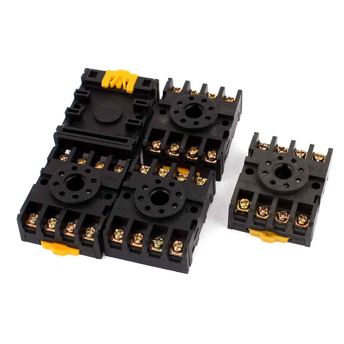 5 Pcs 8 Pin Power Timer Relay Socket Base Holder PF083A for JTX-2C DH48S