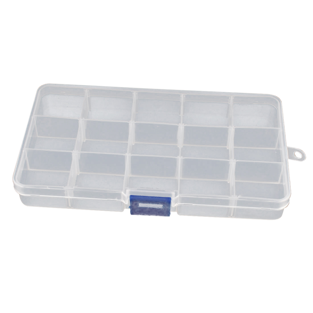 Electronic Components Tool 15 Slots Detachable Rectangle Plastic Storage Cases Boxes Organizer Holders