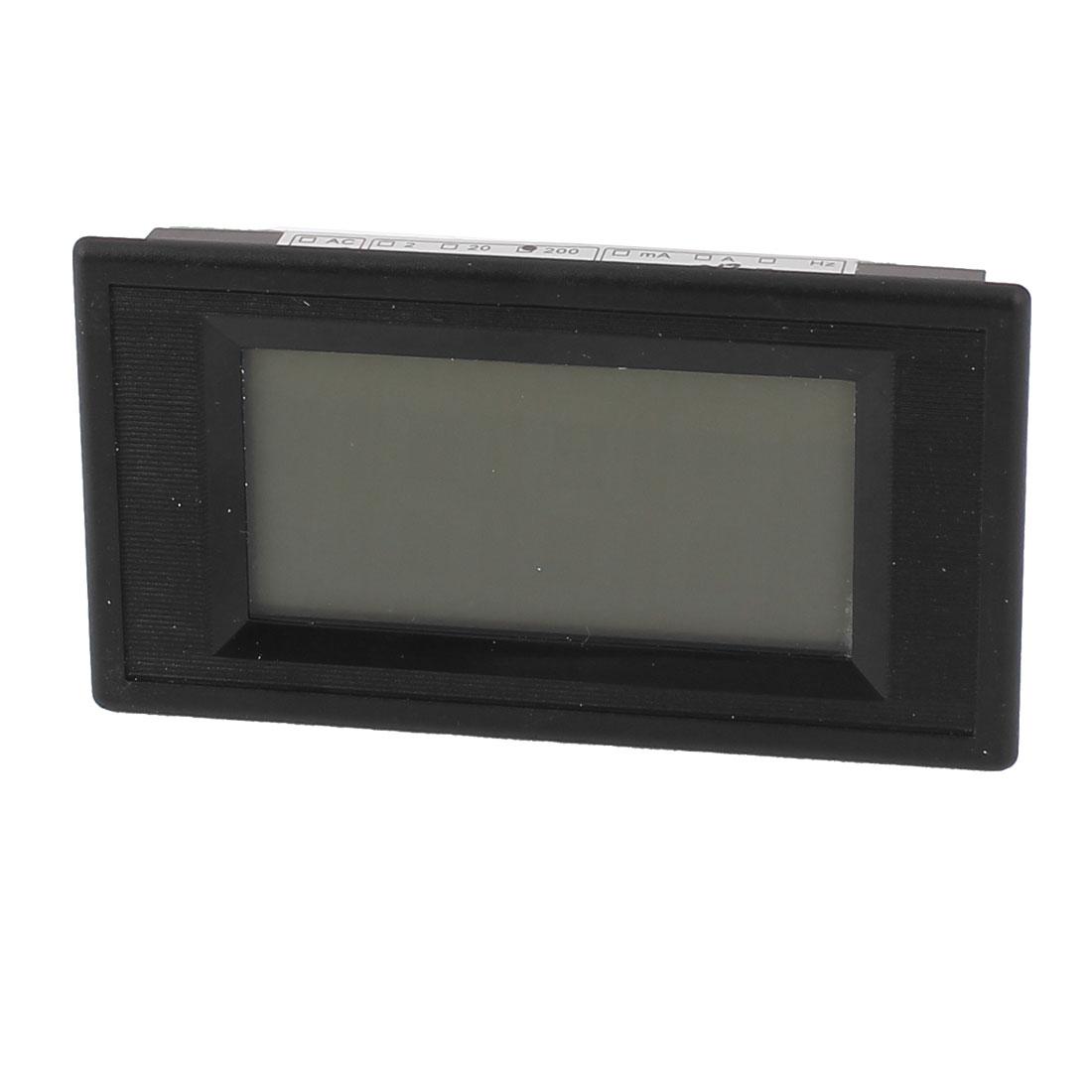 AC/DC 8-12V Blue Backlight Digital Panel LCD Display Resistance Meter Tester Counter 0-200 Ohm