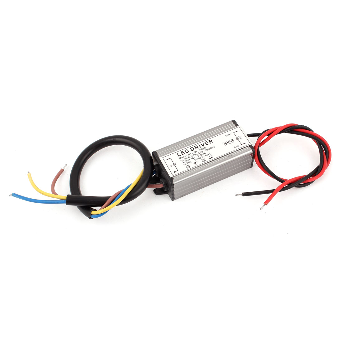 AC 175-265V to DC 10V IP66 Waterproof LED Light Strip Power Supply Driver 10W