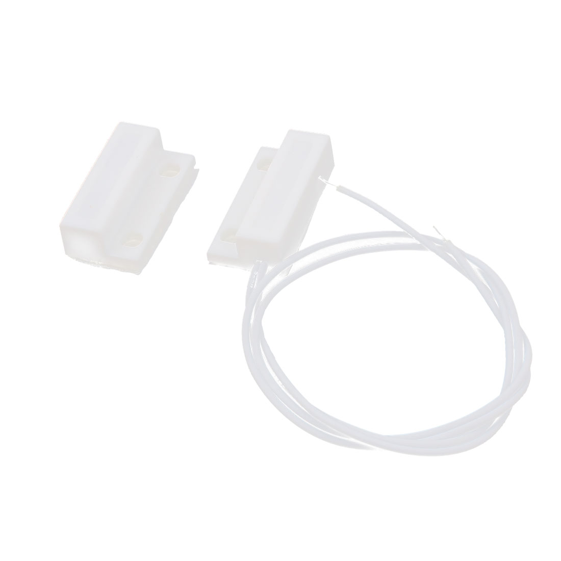 Housing Plastic MC-38 NO Normally Open Window Door Reed Magnetic Contact Switch White Pair