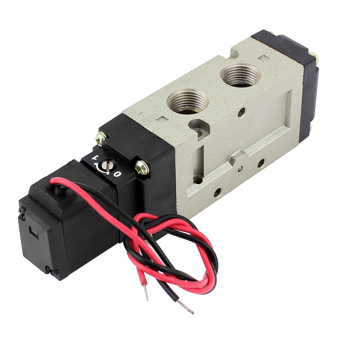 VF-5120 DC 21-26V 1.5-7kg/cm2 5 Way 2 Position 3/8BSP Thread Air Gas Pneumatic Solenoid Valve