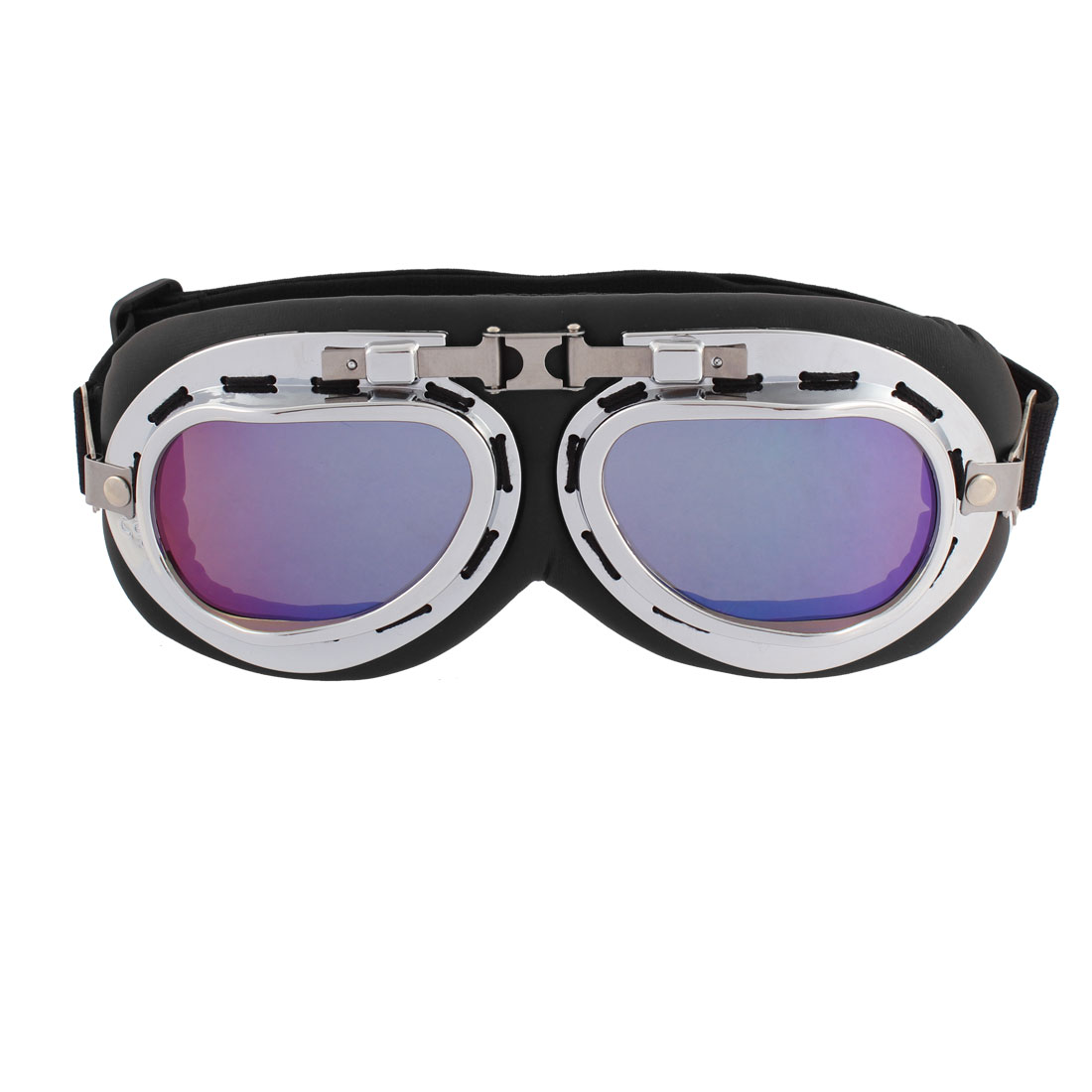 Motorbike Karting Sports Frame Colorful Glasses Mirror Sunglasses