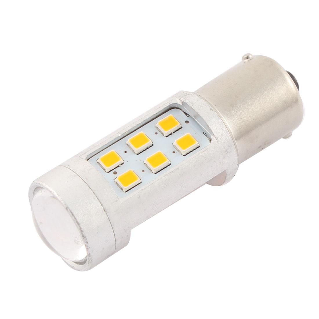 Auto Car 1156 BA15S P21W Yellow LED Turn Backup Bulb Light DC 12V