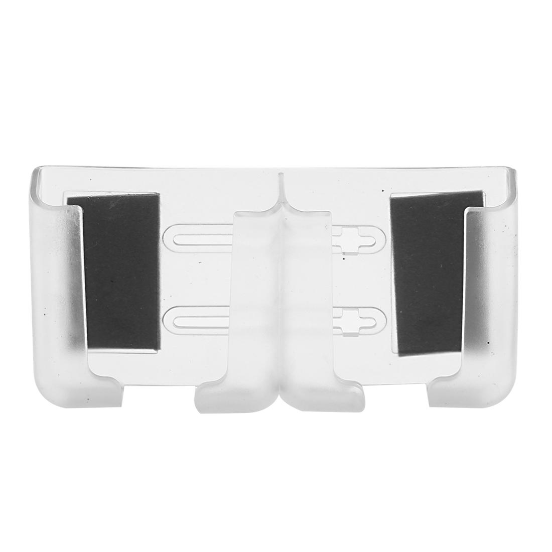Clear Plastic Detachable Strip Smartphone GPS Card Car Holder