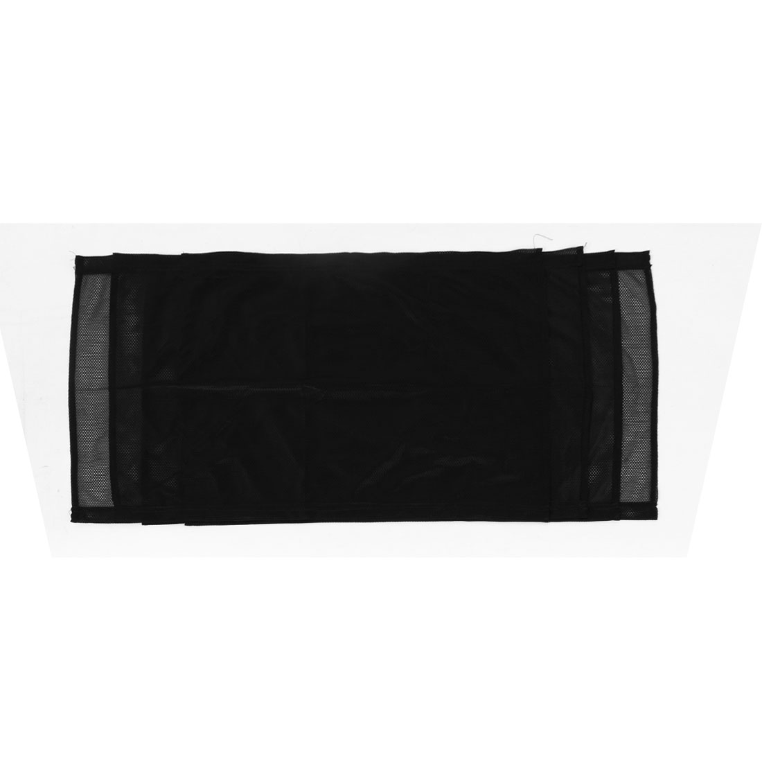 70cm x 47cm Black Retractable Meshy Rear Side Window Sun Shade 2 Pairs