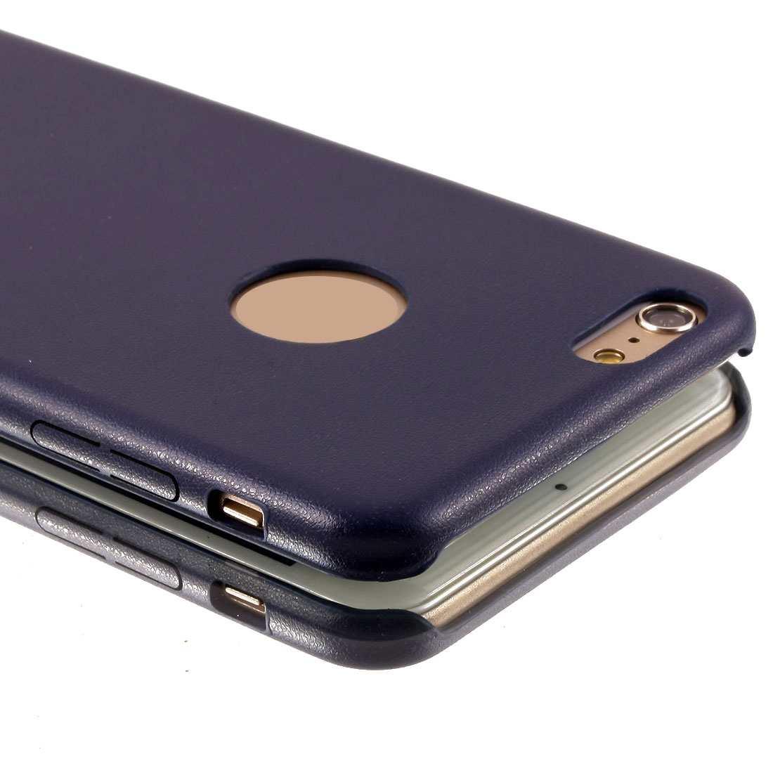 Navy-blue Protective Case Cover For iPhone 6 Plus