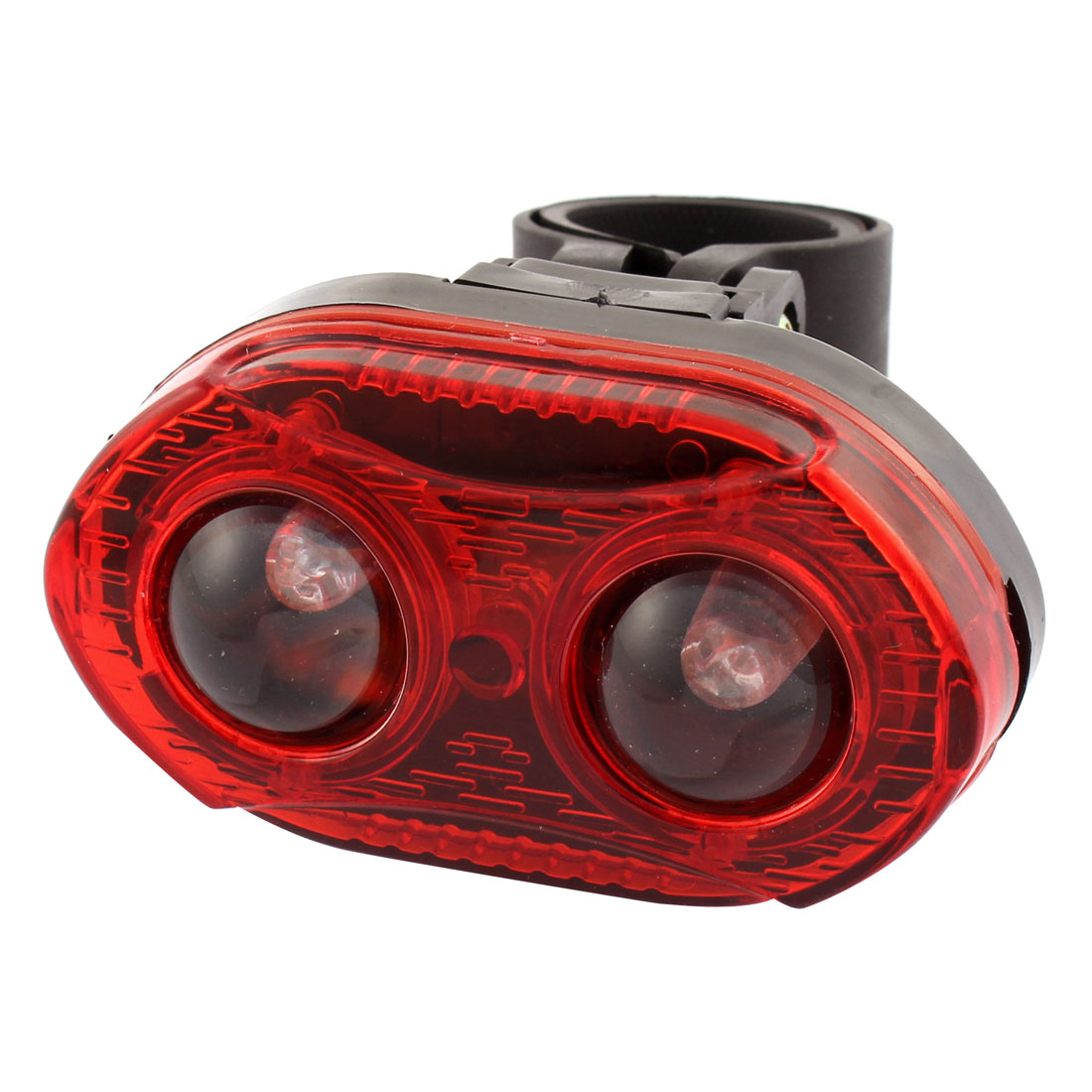Mountain Bicycle Bike 3 Modes 3 LEDs Red Rear Warning Tail Light Lamp
