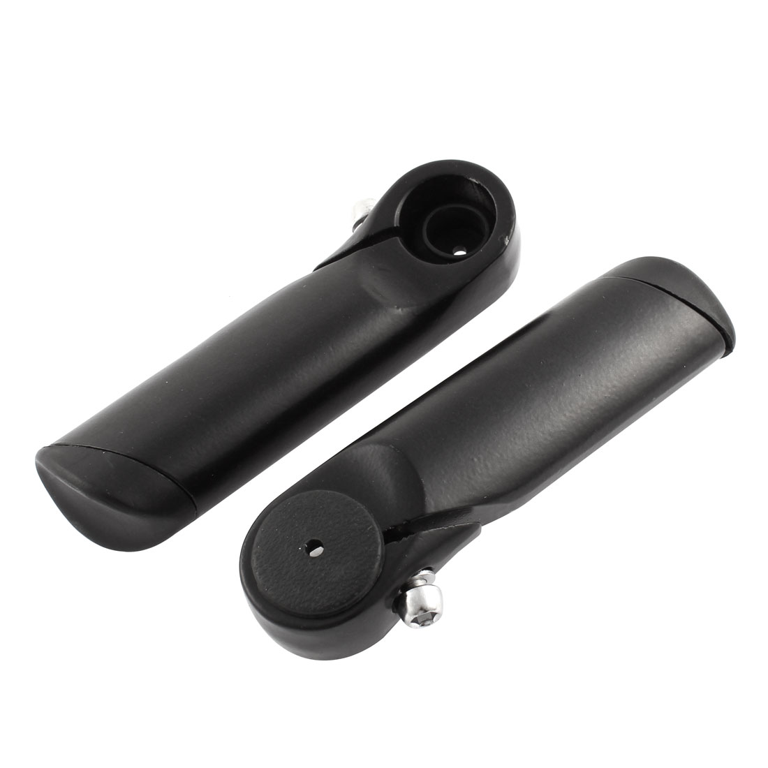 2PCS Black Mountain Bike Bicycle MTB Alloy Handle Bar Ends 12cm Length