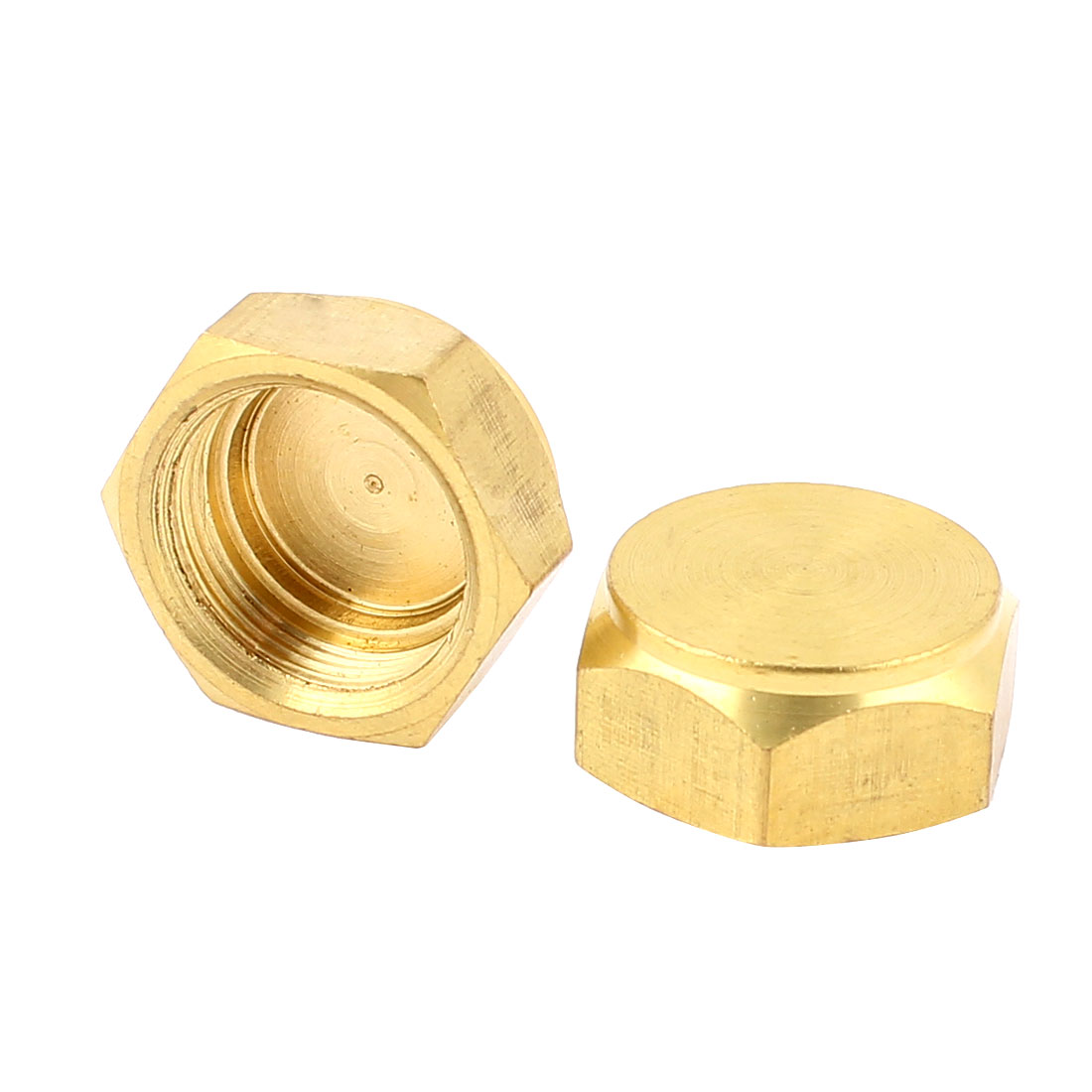 Air Conditioner 1/2BSP Thread Hex Head Pipe Connector Fitting 2pcs