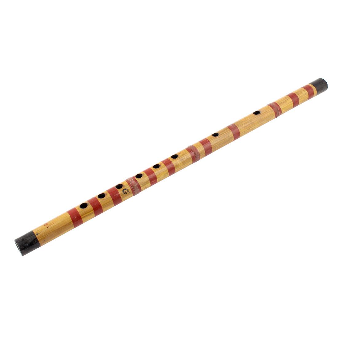 Musical Instrument Soprano G Tune 10 Holes Music Chinese Bamboo Flute