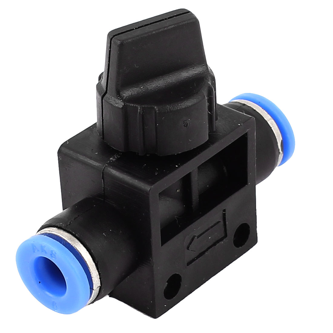 6mm to 6mm Air Pneumatic Quick Release Fitting Connector Speed Controller Valve